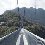綾町の照葉大吊橋 ~ユネスコエコパークの中で~
