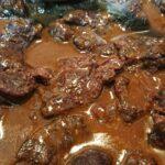 和牛すね肉の赤ワイン煮込み